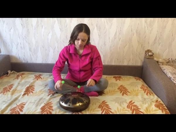 Ханг. Глюкофон. Играть на Ханге легко! Celestial drum. Its easy to play the Celestial drum!