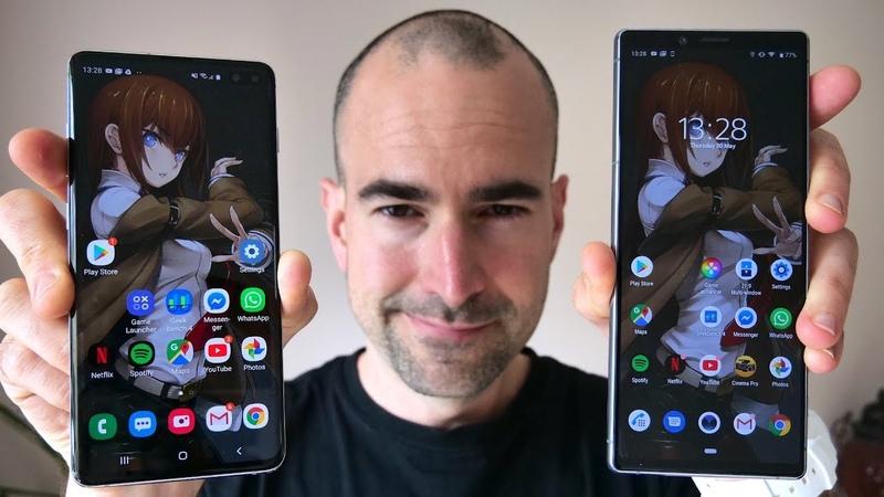 Sony Xperia 1 vs Samsung Galaxy S10 Plus   Side-by-side comparison
