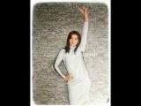 Глэм спорт Фаберлик. Платье с люрексом, цвет белый.