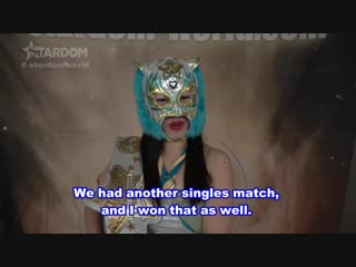 Starlight Kid (c) vs. Hanan - Stardom 5STAR Grand Prix 2018 - Tag 10: Grand Champion Carnival (Afternoon Show)