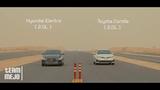 Hyundai Elantra vs Toyota Corolla - Drag Race