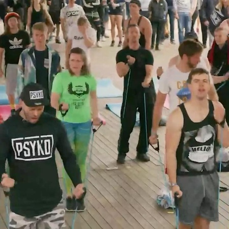 """Q-dance on Instagram """"Crazy outfits, sick morning specials and pure madness that's what Sunday Funday at Defqon.1 is all about! Join our wacky t..."""