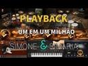 Simone Simaria Um Em Um Milhão Playback Versão Vithor Hugo Studios
