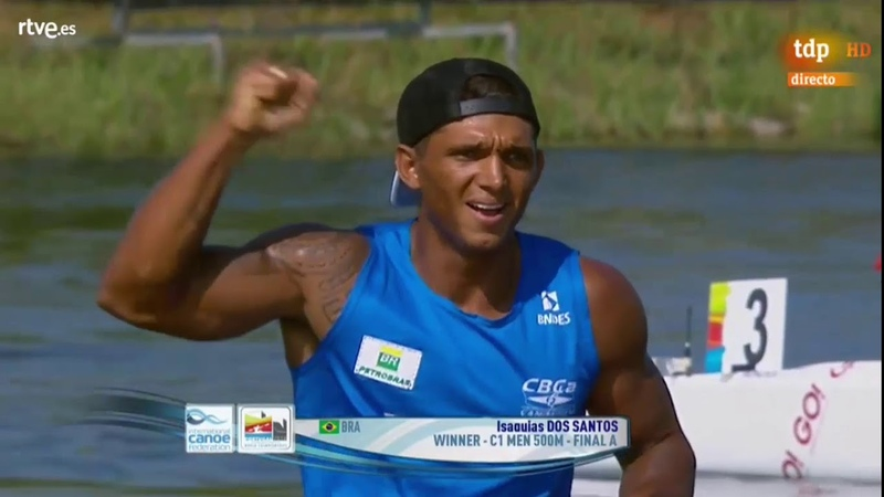 FINAL A C1 500 MEN - 2018 ICF Canoe Sprint World Championships Montemor.