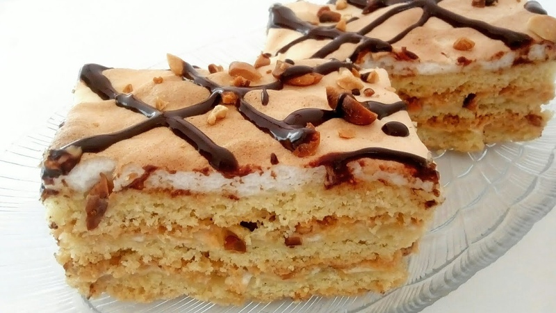 Торт Воздушный сникерс Սնիկերս