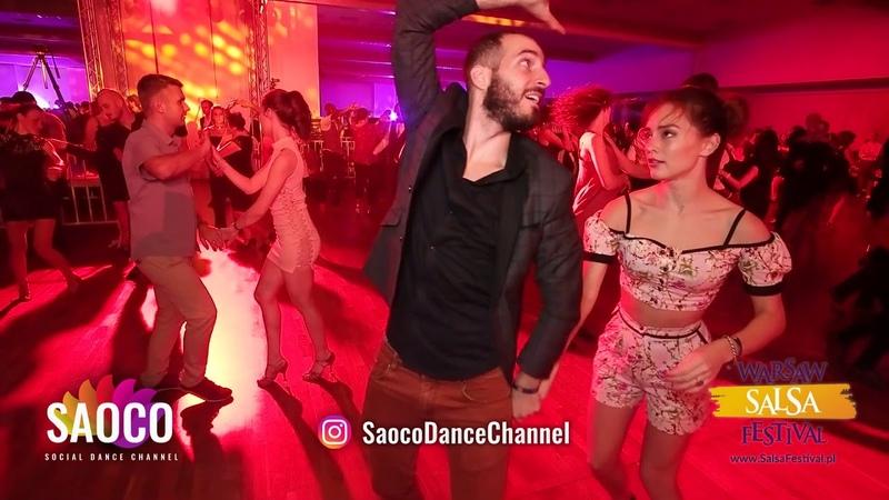 Nikitas Spl and Natalya Chumakova Salsa Dancing at El Sol Warsaw Salsa Festival, Sunday 11.11.2018