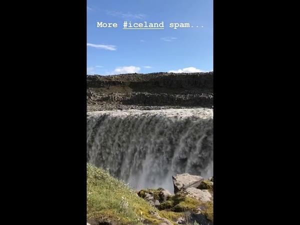 Georg Listing Instagram Story i [20.08.2018] - more iceland spam...