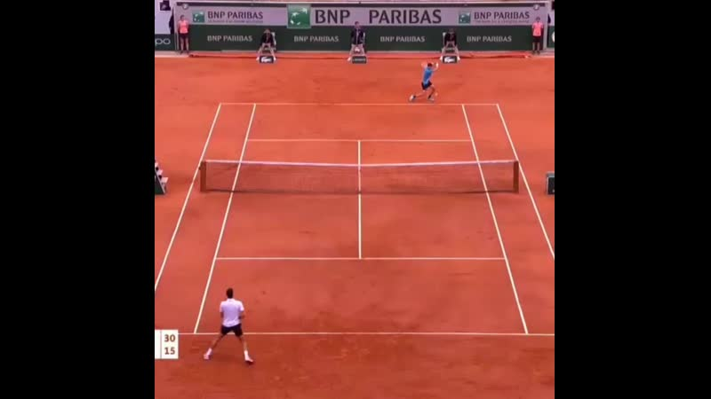 Dominic Thiem HOTSHOTS and Match point Intothefinal