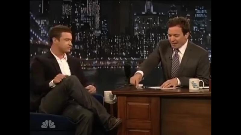 Justin Timberlake and Jimmy Fallon Impersonating Michael Jackson