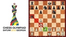 How To Lose In 8 Moves At Batumi Chess Olympiad? (GM Level)