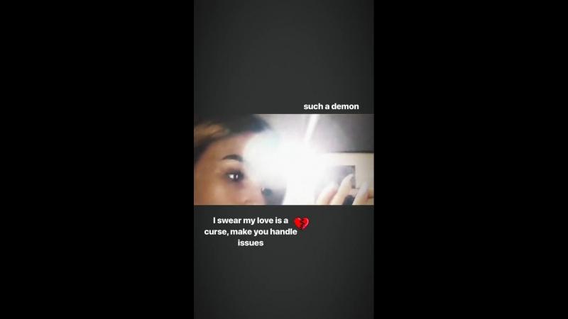 Ева Тимуш Instagram Stories