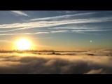 Утренний туман на ЮМР. Вид с 17 этажа.