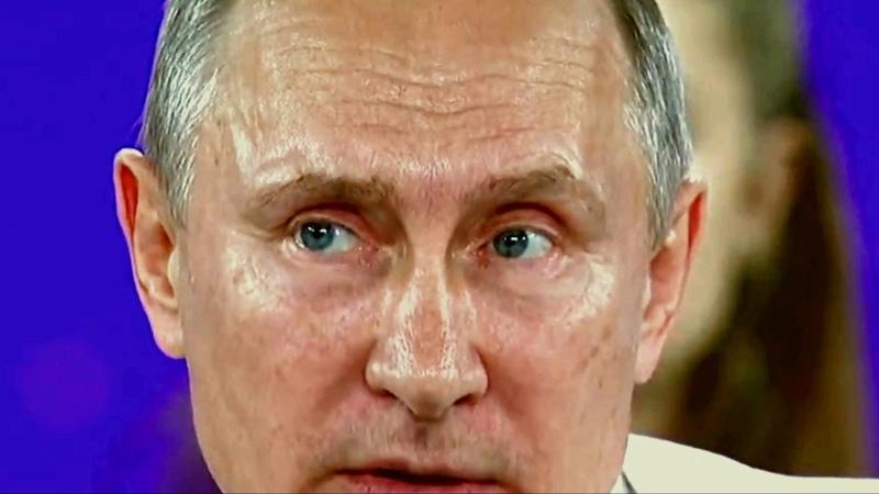 Путин и его неудачная блефаропластика