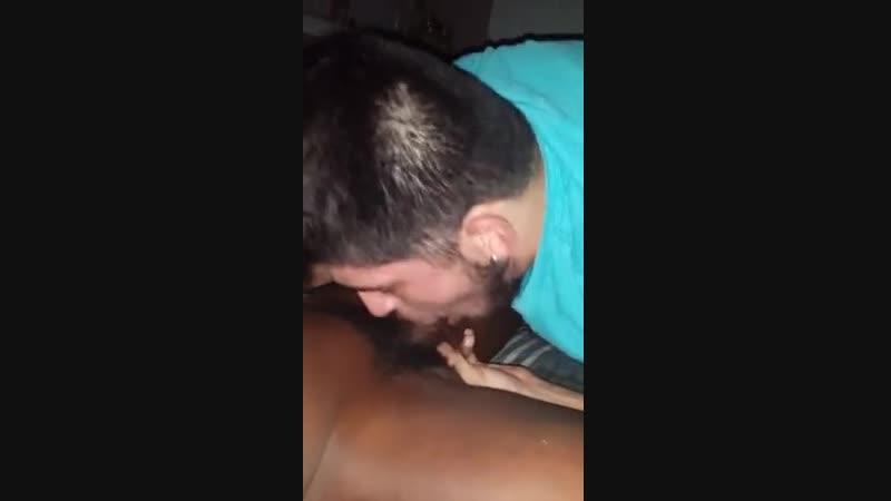 Sucking The Weed Man