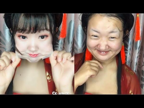 화장을 지우는 과정, 정말 이게 나라고? 화장 전후 비교너는너의눈을믿을수없어. OMG Makeup vs No Makeup - Girl Removing Makeup. P16