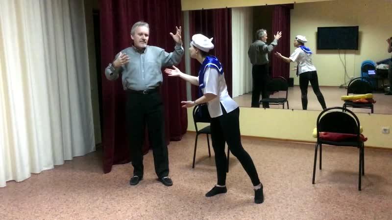Репетиции спектакля Котенок по имени Гав. Театр Амадей