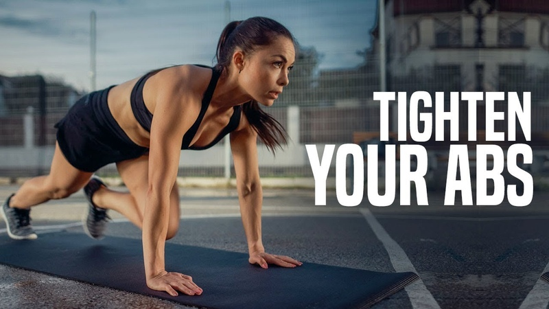 ABS TIGHTENING Exercises for a SLIMMER WAIST (Fast Results!)