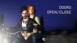 Doors open close ZinOk and Barry`s adventure Sims 3 machinima RUS SUB