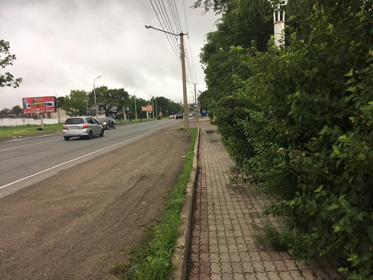 тротуар Уссурийск