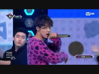 [25.10.18] MCOUNTDOWN @ Lee Hong Gi - COOKIES (ft. Lee Seung Hyub)