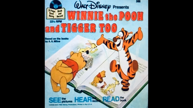 Walt Disney's Winnie The Pooh and Tigger Too I Little Ones Story Time Video Library