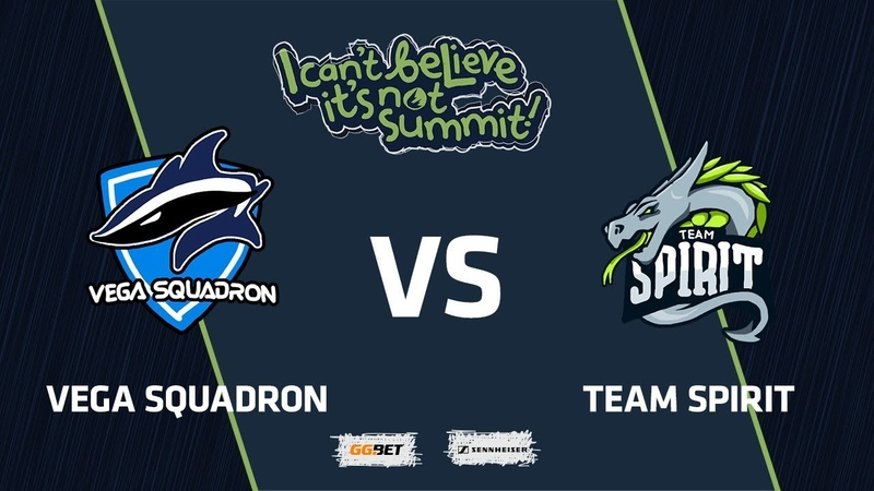 Vega Squadron vs Team Spirit, Game 2, Group Stage, I Can't Believe It's Not Summit