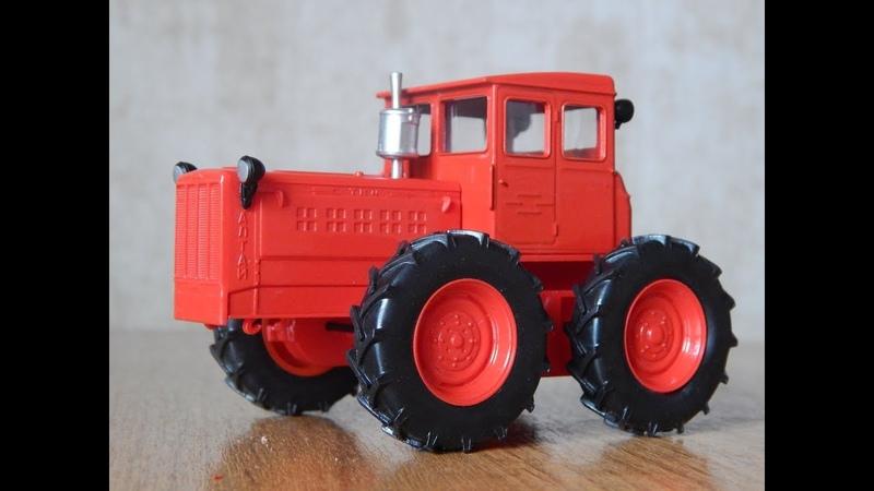 ТК-4. Обзор модели 143 Тракторы История, люди, машины. №100