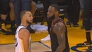 LeBron James And Stephen Curry Trash Talk! Warriors vs Cavaliers Game 1 2018 NBA Finals