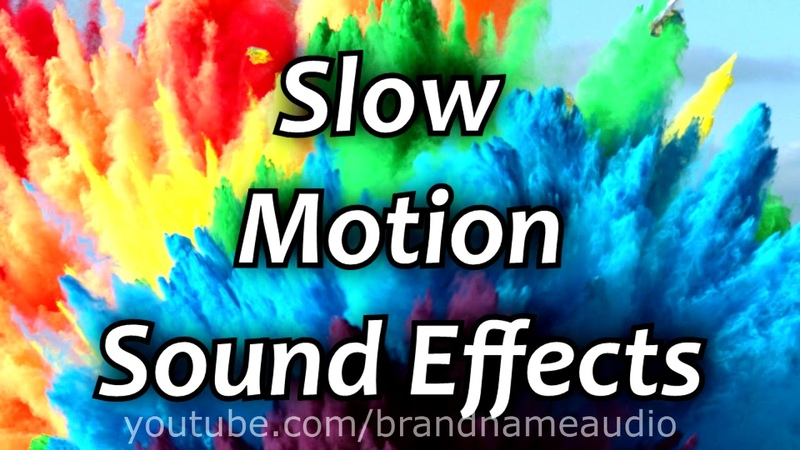 Slow Motion Sound Effects Pack