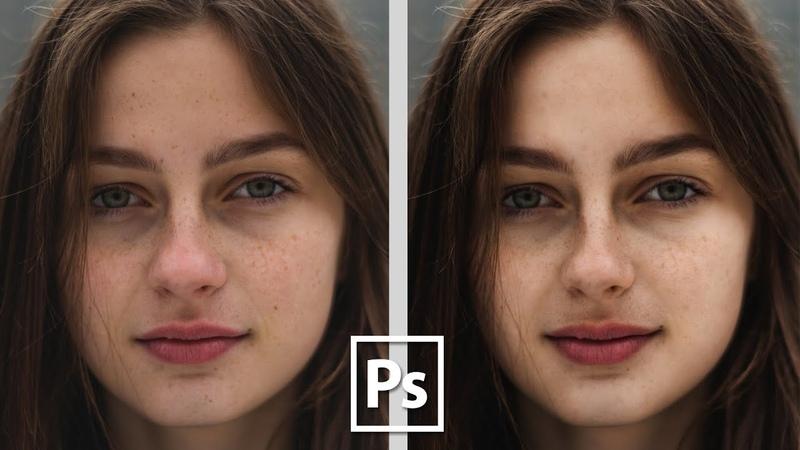 Просто и легко ретушируем в Adobe Photoshop CC    Уроки Виталия Менчуковского