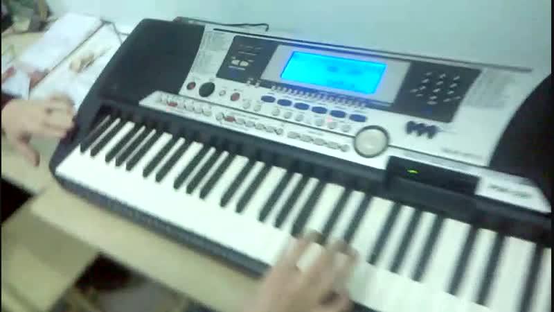Наигранное соло-вставка из песни Кино - Кукушка на 4-х инструментах