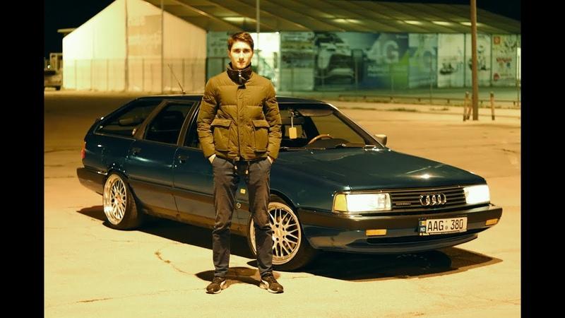 Мечта твоего бати - Audi 200 5000 quattro 10V turbo blow-off