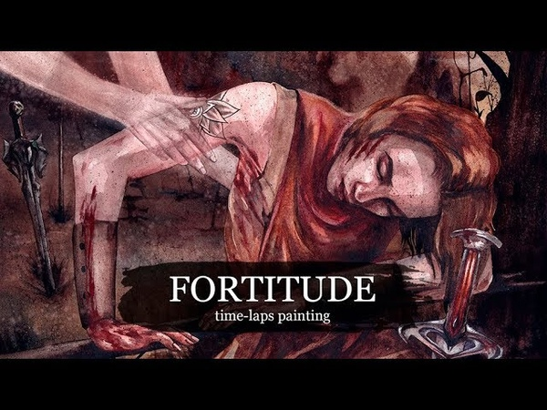 FORTITUDE (time-laps painting)