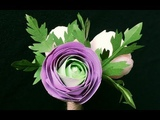 ABC TV How To Make Ranunculus Paper Flower Bouquet - Craft Tutorial