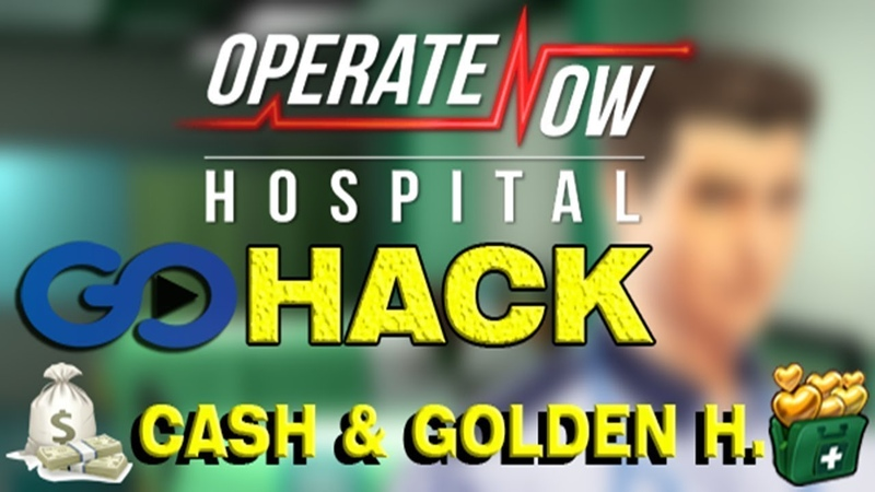 HOW TO HACK/CHEAT FREE GOLD CASH OPERATE NOW HOSPITAL - HOW TO GET FREE GOLD CASH
