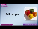 Learn English - English Vocabulary Lesson 12 - Vegetables _ Free English Lessons