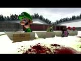 AloneCreeperChannel Gmod Winter Olympics - Кооперативные санки и ХАОС!!! vanoss перевод