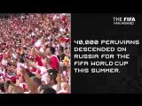 FIFA Fan Award 2018 | Фанаты сборной Перу