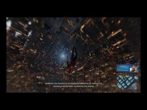 Marvels Spider-Man Glitch