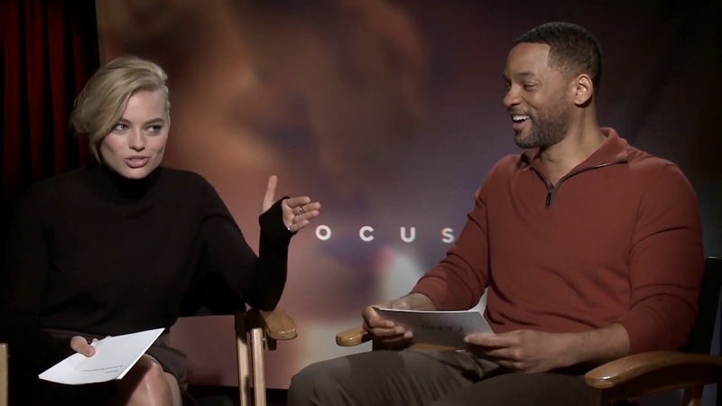 Will Smith And Margot Robbie Swap Pick-Up Lines