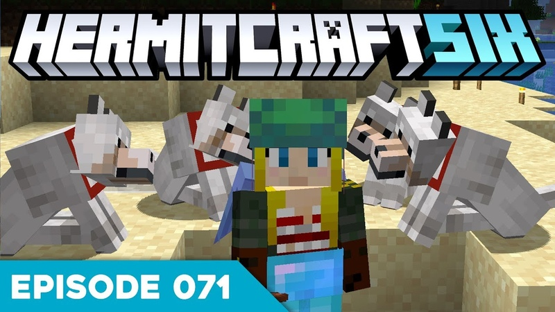 Hermitcraft VI 071 PRANKING MAKING BETS 😜 A Minecraft Let's Play