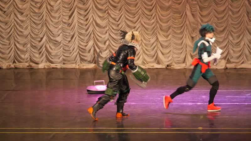 2.41. КОМАНДНОЕ ДЕФИЛЕ № 11 Boku no Hero Academia (Izuku Midoriya, Katsuki Bakugou) - Chessnochoc, StaishBlackRose, Москва