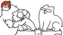 On The Fence - Simon's Cat (Jazz Trilogy! - 2/3) | SHORTS 83