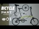 Cara Membuat part miniatur sepeda BROMPTON NYC part1