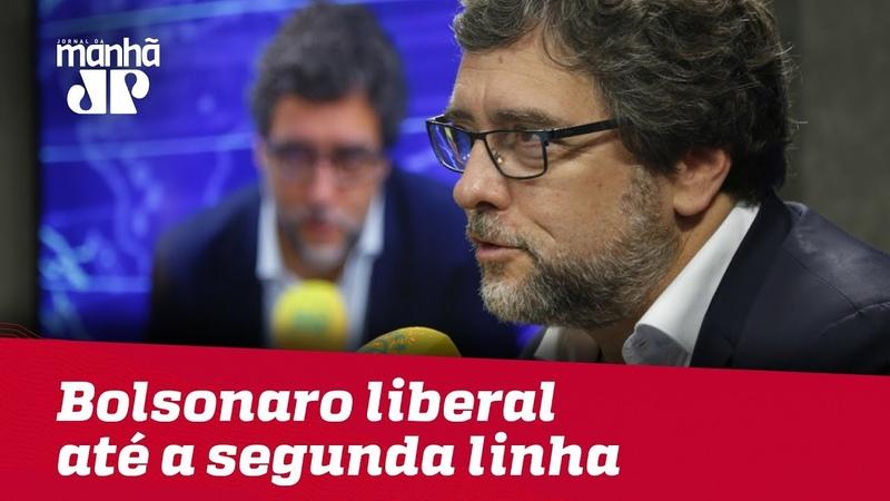 'Bolsonaro se apresenta como liberal até a segunda linha' diz vice de Amoêdo