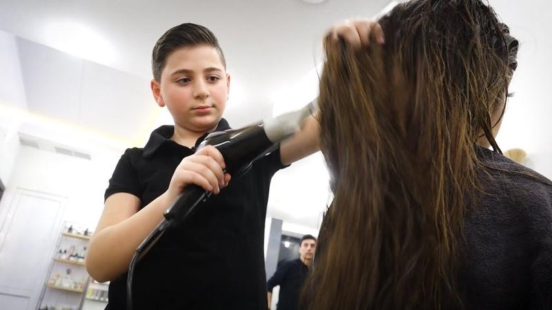 Кто самый молодой парикмахер Армении?