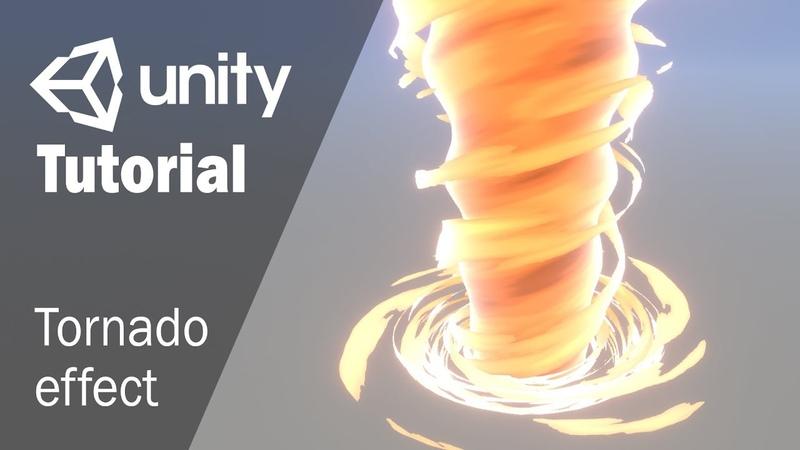 Гайд как создать эффект торнадо с помощью Shader Graph в Unity 3D