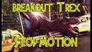 Breakout Trex - Stop Motion - Jurassic Repaints