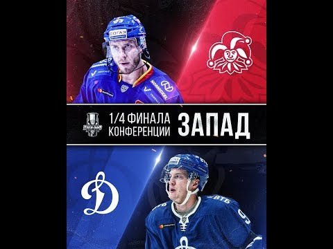 KHL 19 PS4. 2019 GAGARIN CUP PLAYOFFS FIRST ROUND GAME 1 WEST JOKERIT HELSINKI VS DYNAMO MOSCOW. 25.02.2019 !