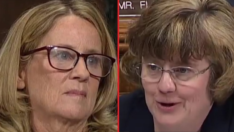 You Fly A Lot On Planes Don't You? Prosecutor Asks Christine Blasey Ford To Explain Herself